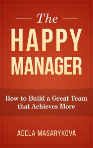 the Happy manager cover